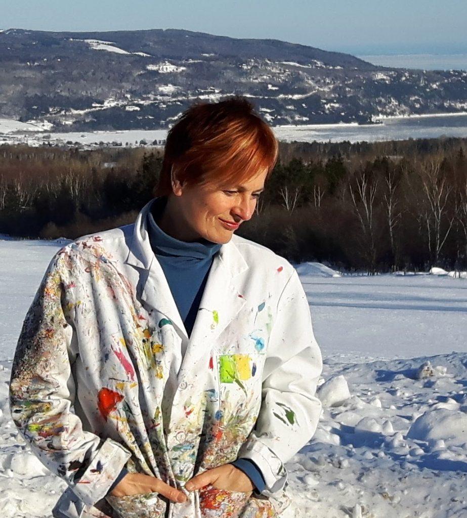 Denise Pelletier, artiste peintre